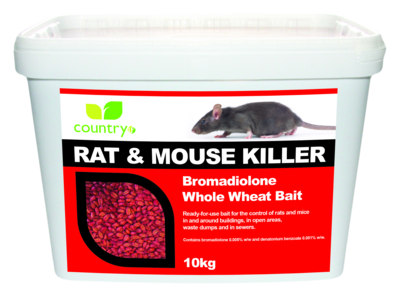 Country Bromadiolone Whole Wheat Bait