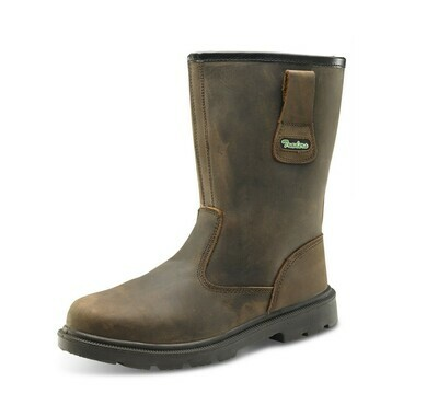 Beeswift Click Rigger Boot Brown