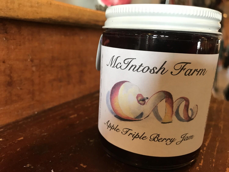 Apple Triple Berry Jam - Mcintosh Farms
