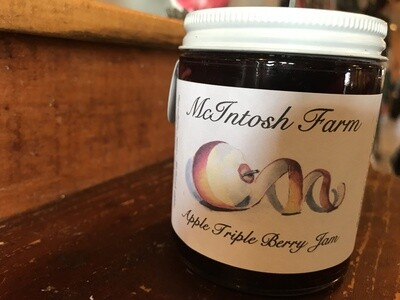 Apple Triple Berry Jam - Mcintosh Farms