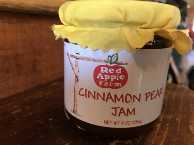 Cinnamon Pear Jam 9oz