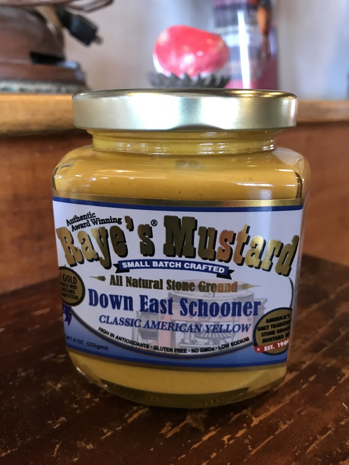 Down East Schooner Mustard 9oz