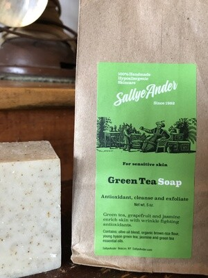 Green Tea Sq Soap 5oz