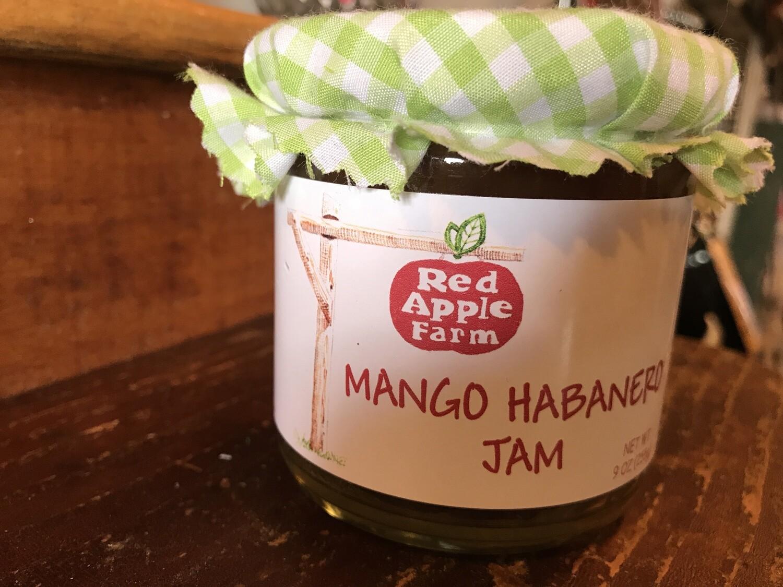 Mango Habanero Jam 9oz