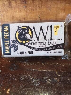 Maple Pecan OWL bar