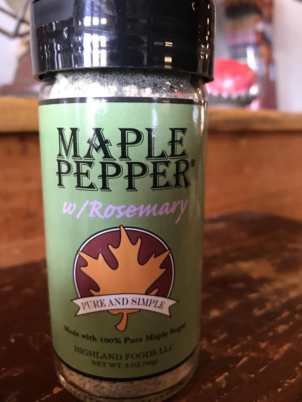 Maple Pepper w/ Rosemary 3oz