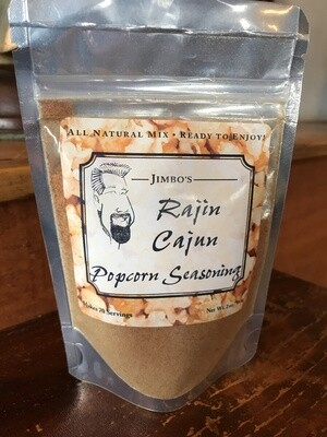 Raging Cajun Popcorn Seasoning