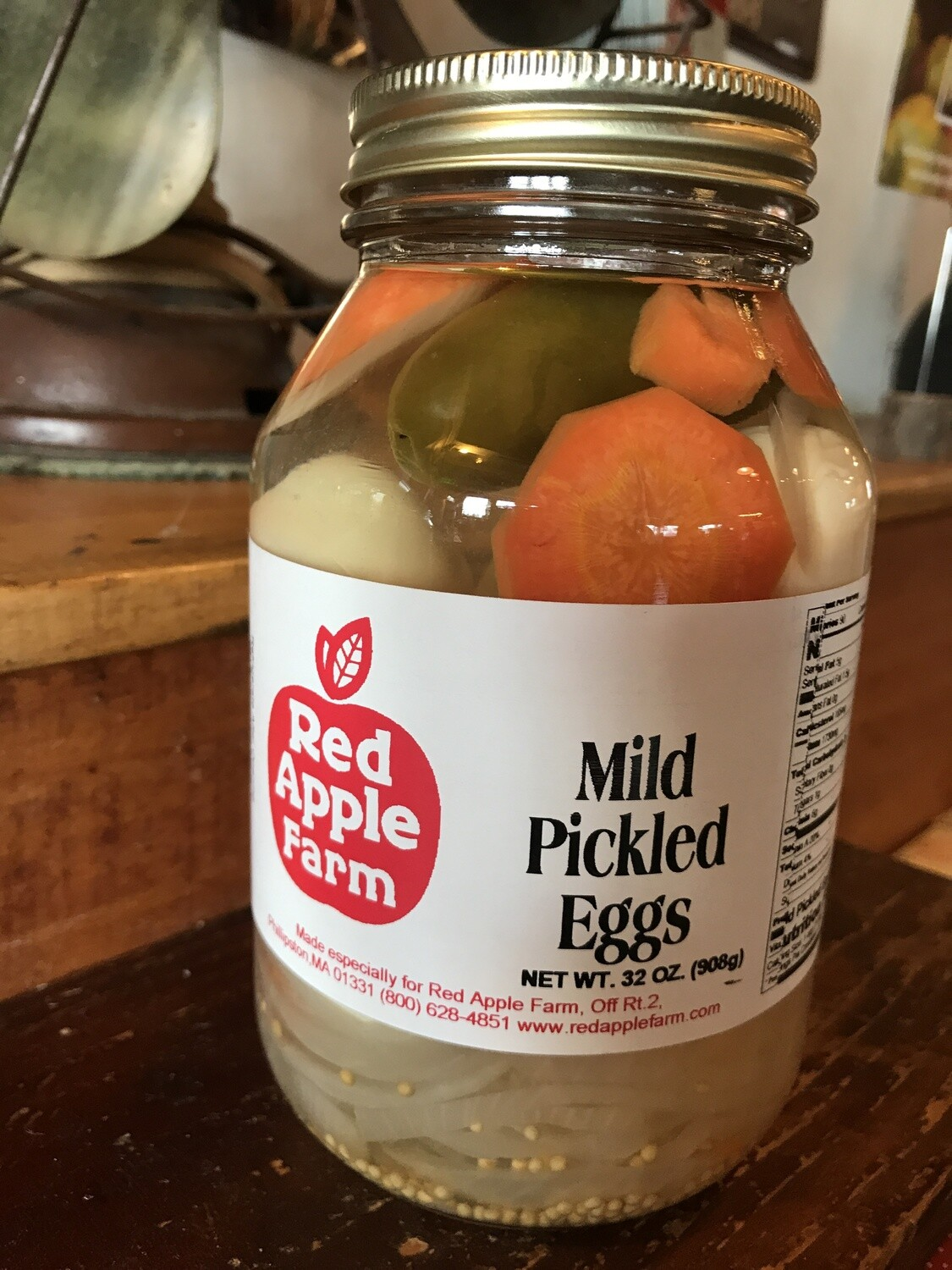Mild Pickled Eggs 32oz