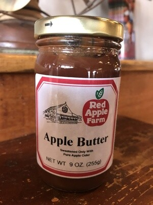 No Sugar Added Apple Butter 9oz