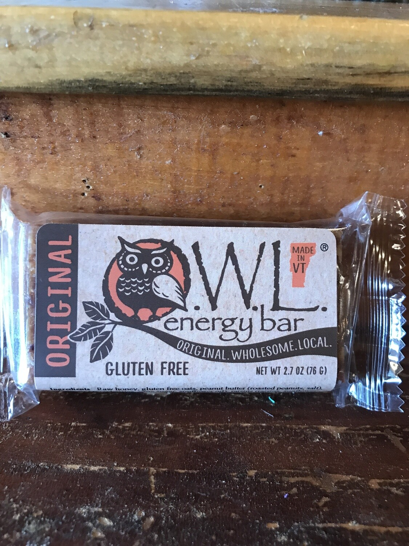 OWL Energy Bar 2.7 oz