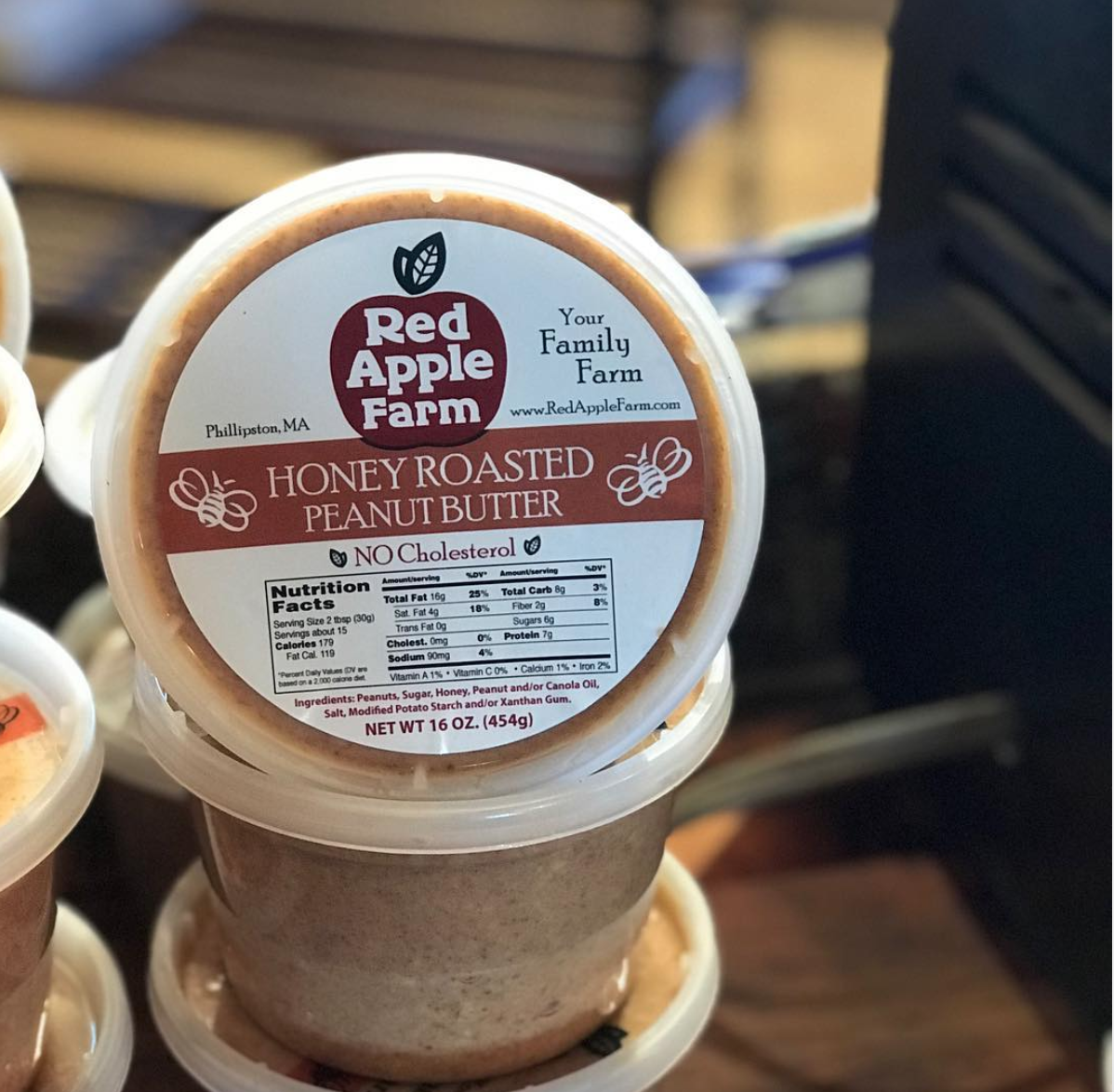 Honey Roasted Peanut Butter (1lb)