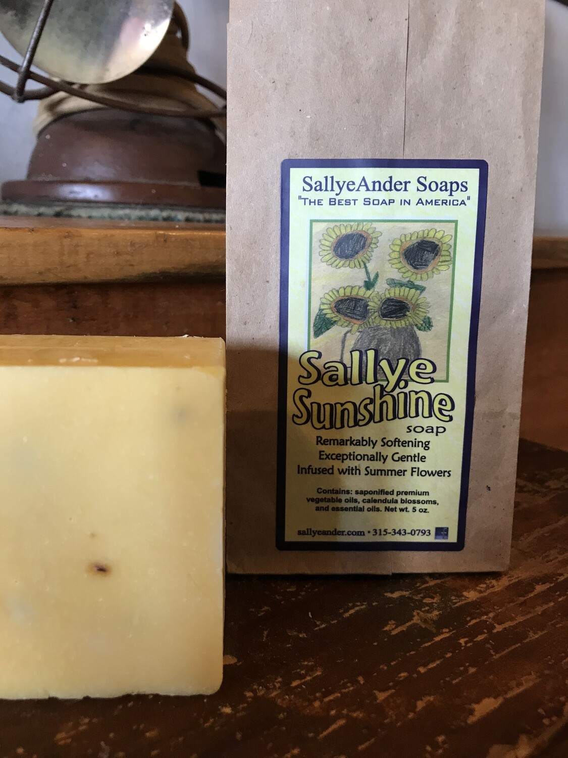 Sallye Sunshine Soap 5oz