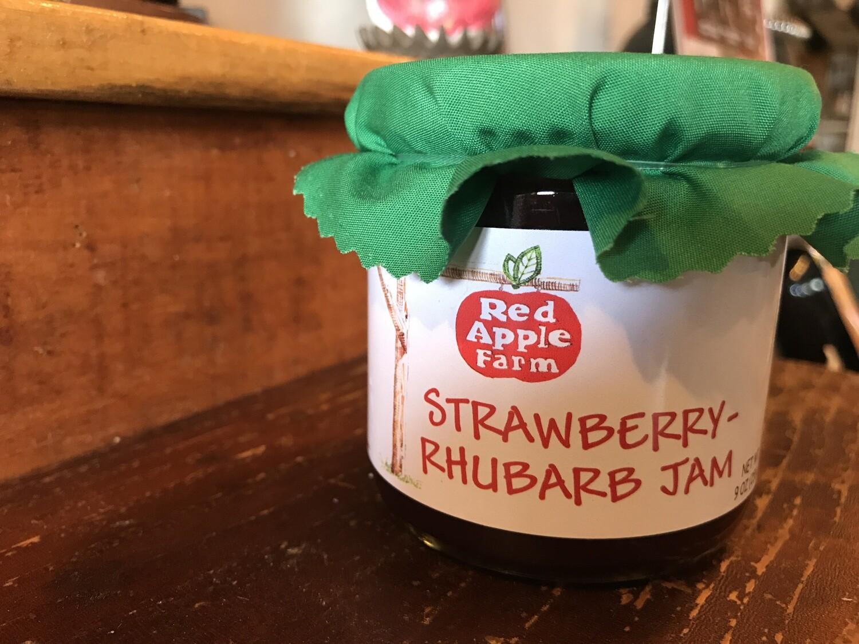 Strawberry Rhubarb Jam 9oz