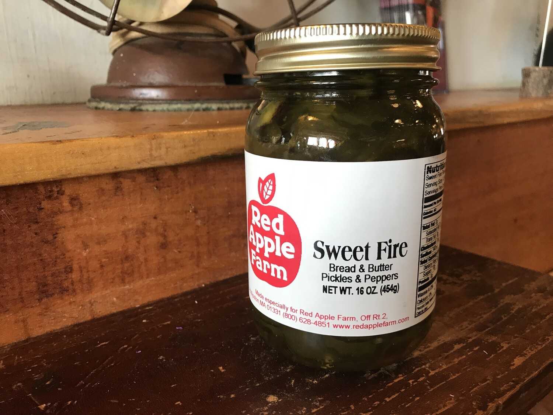 Sweet Fire Pickles 16oz