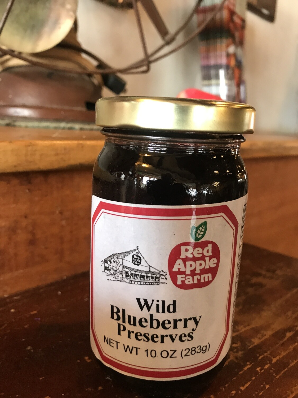 Wild Blueberry Preserves 10oz