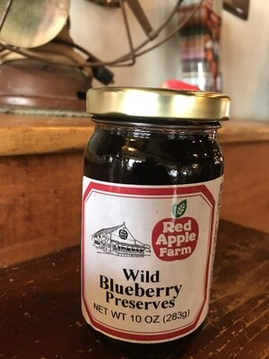 Wild Blueberry Preserves 10oz
