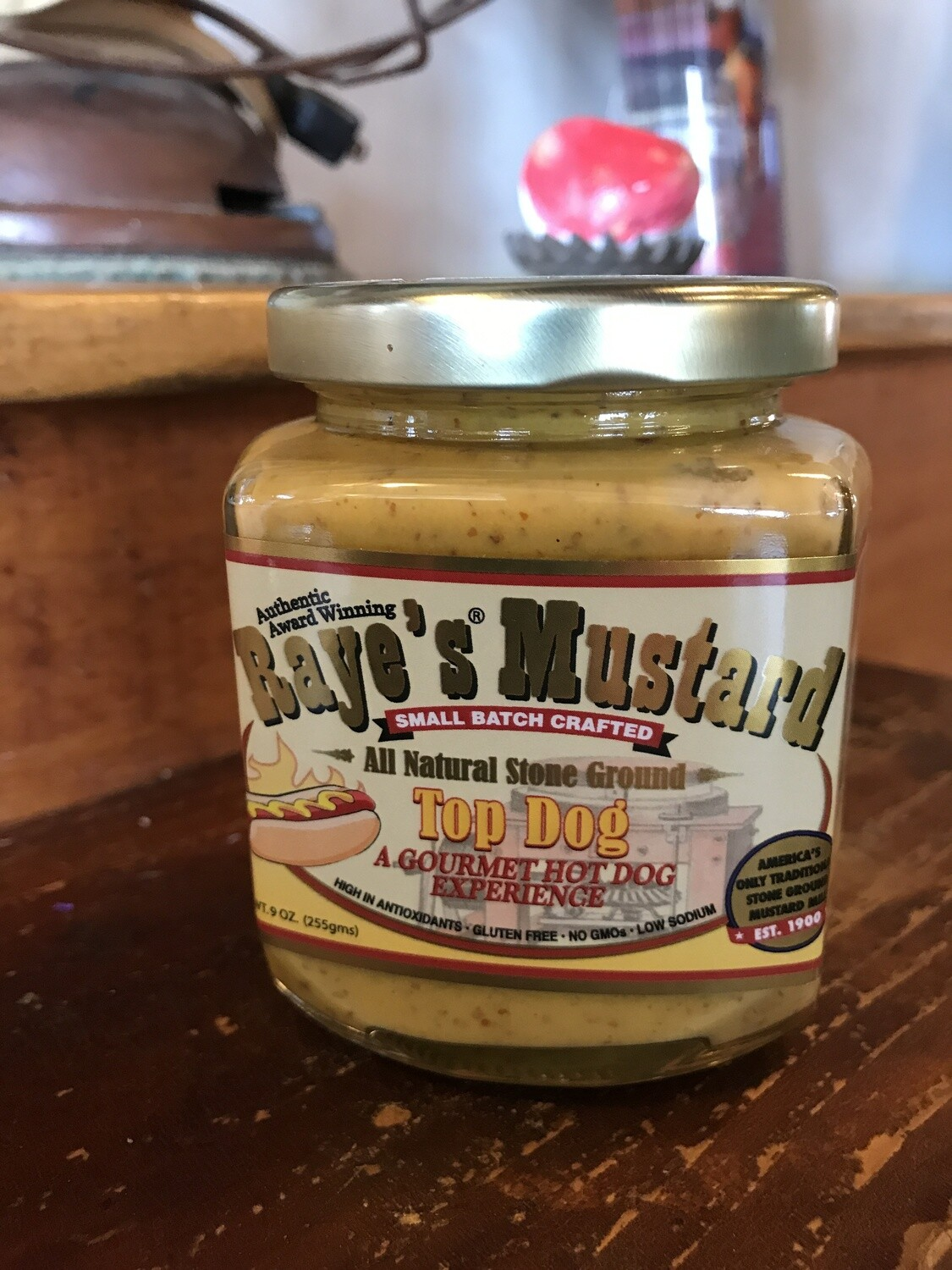 Top Dog Mustard 9oz
