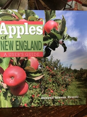 Apples of New England - Hardcover Book