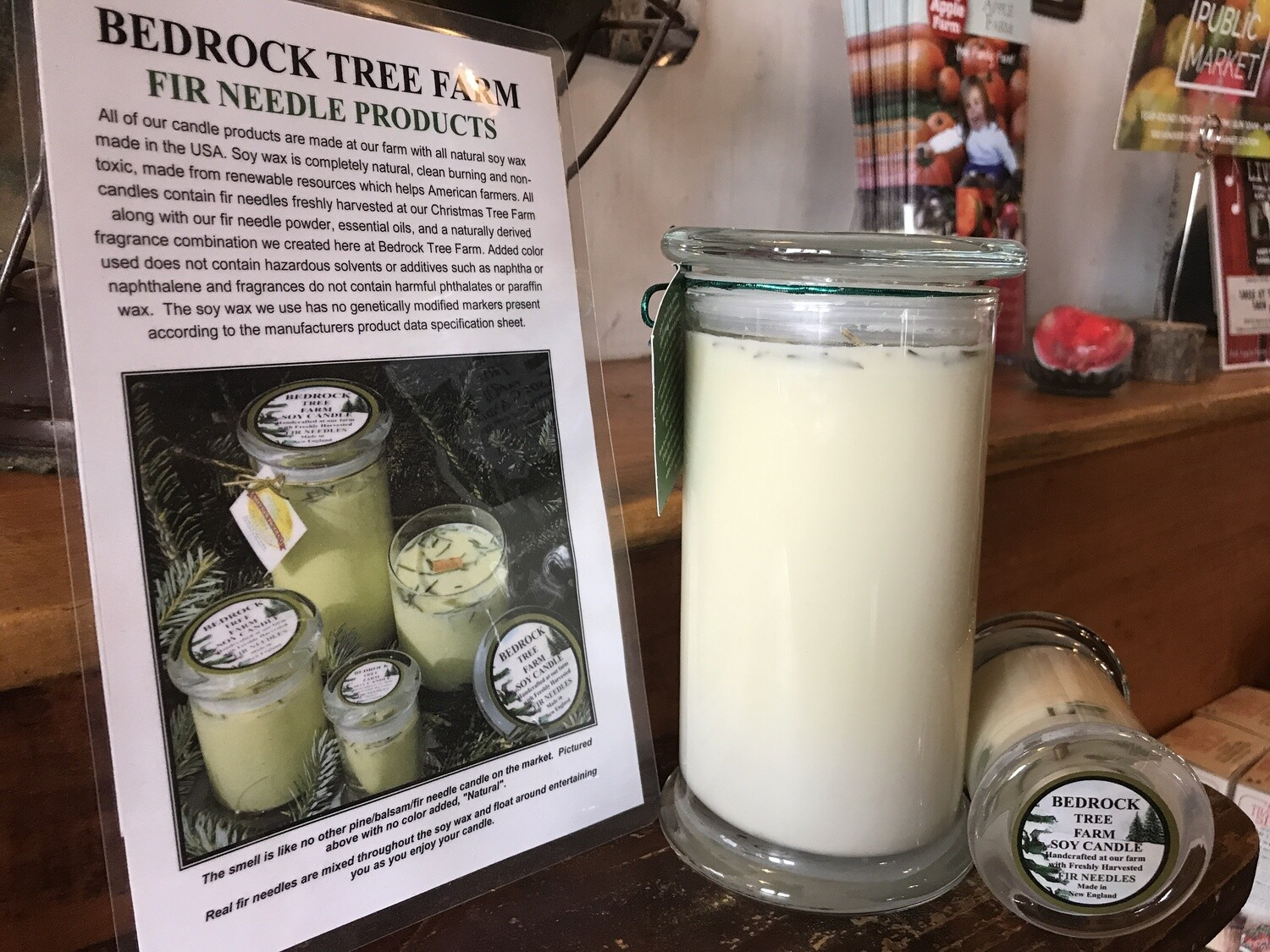 Bedrock Tree Farm Soy Candle 21oz