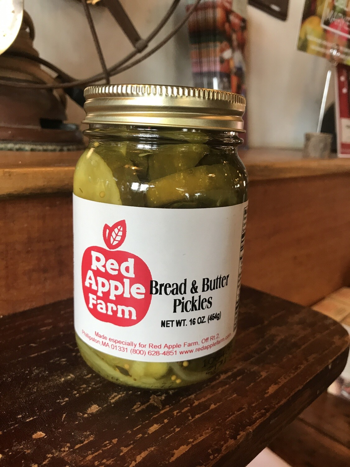 Bread and Butter Pickles 16oz