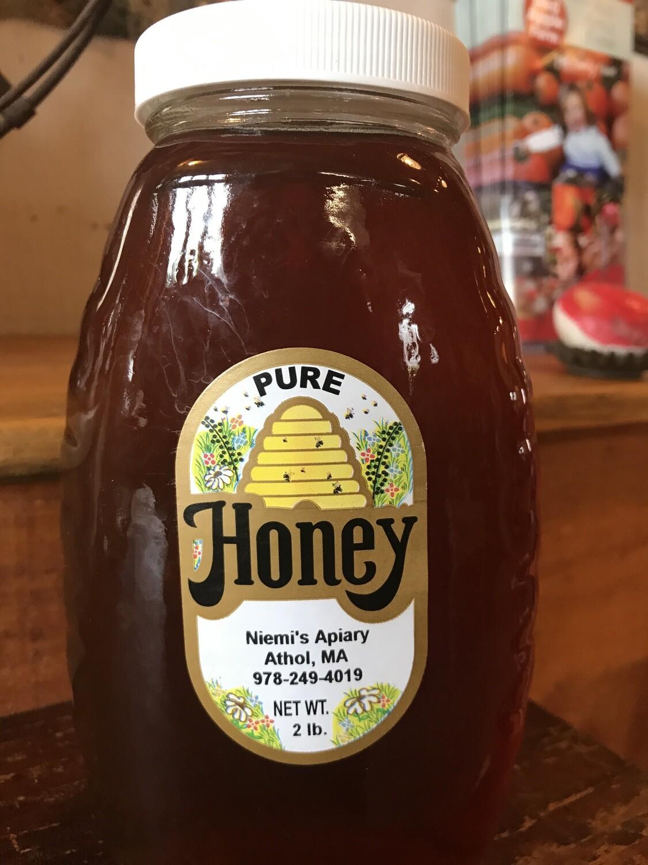 Niemi's Pure Honey 2lbs