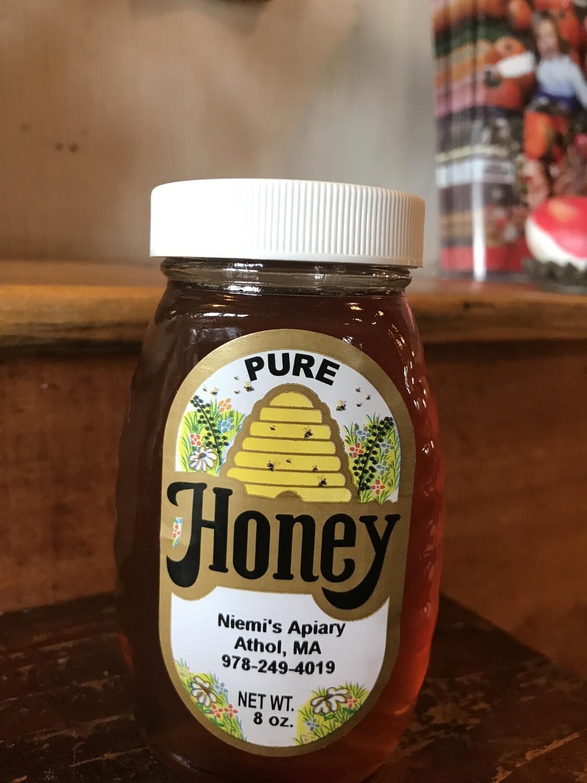 Niemi's Pure Honey 8oz
