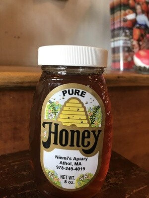 Niemi's Pure Honey 8oz