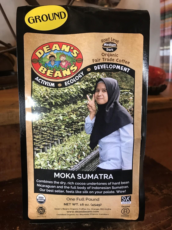 Moka Sumatra Coffee - 1lb