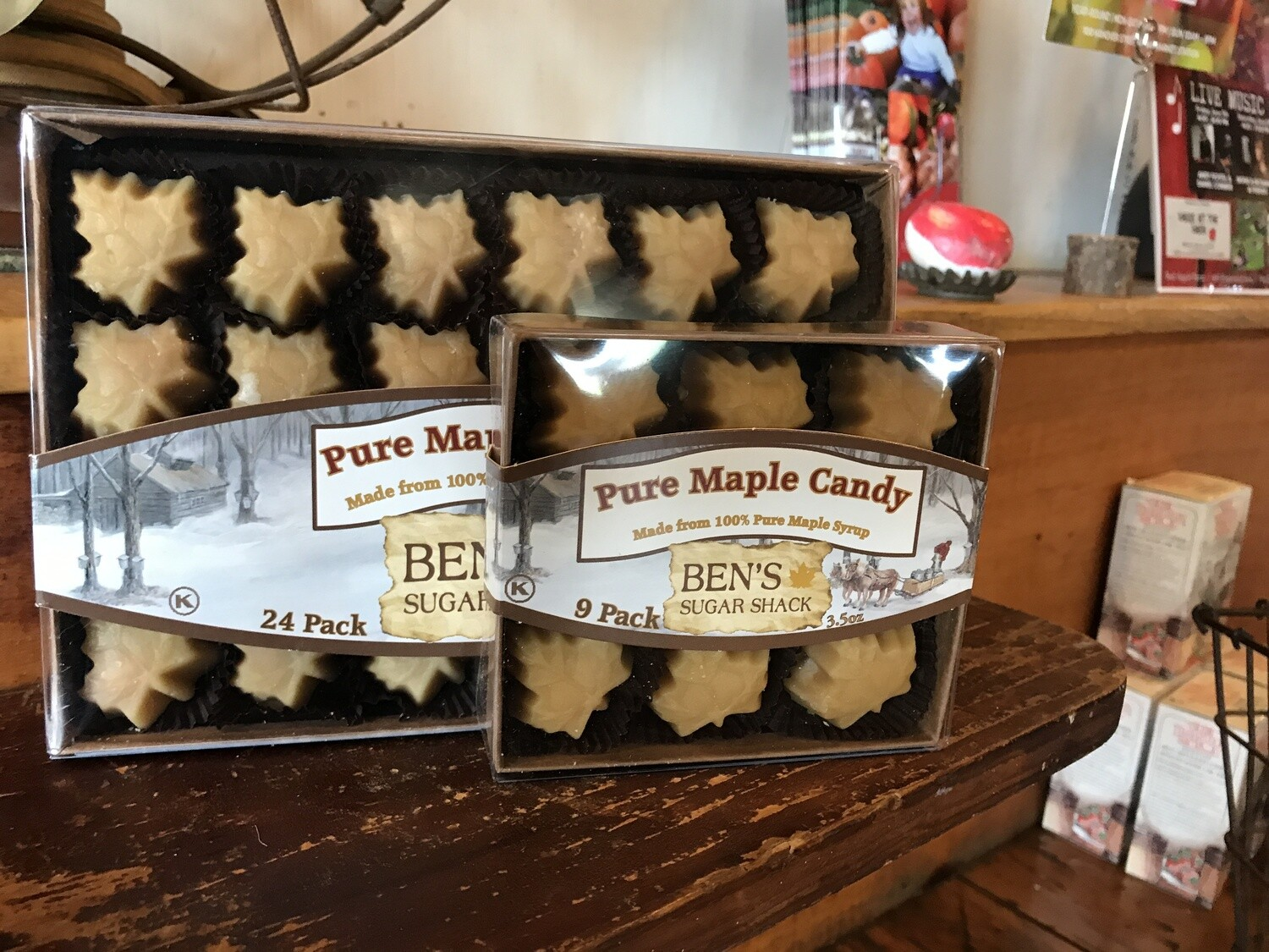 Maple Candy 24 piece box