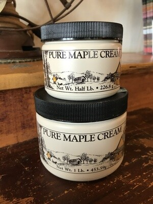 Maple Cream 1/2 lb