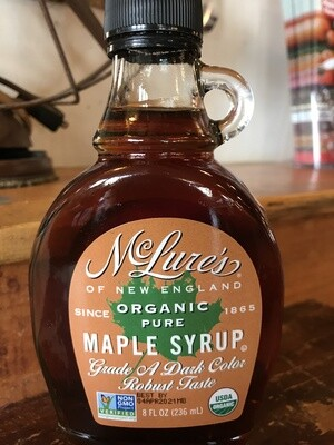 McClure Organic Maple Syrup 8oz