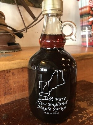 Pure NE Maple Syrup 16.9oz 500ml