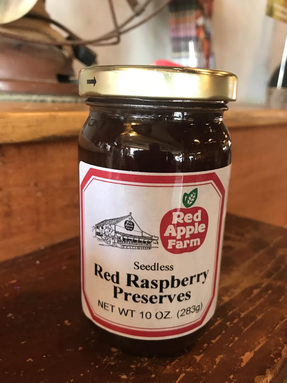 Seedless Red Raspberry Pres 10oz