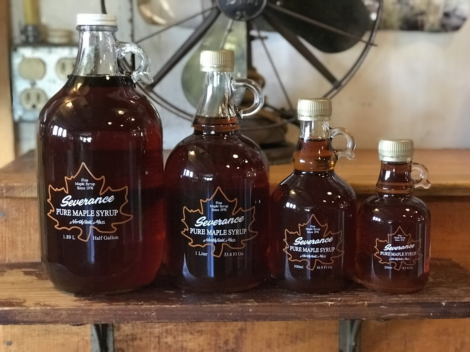 Severance Maple Syrup - (1/2 Gallon) Glass