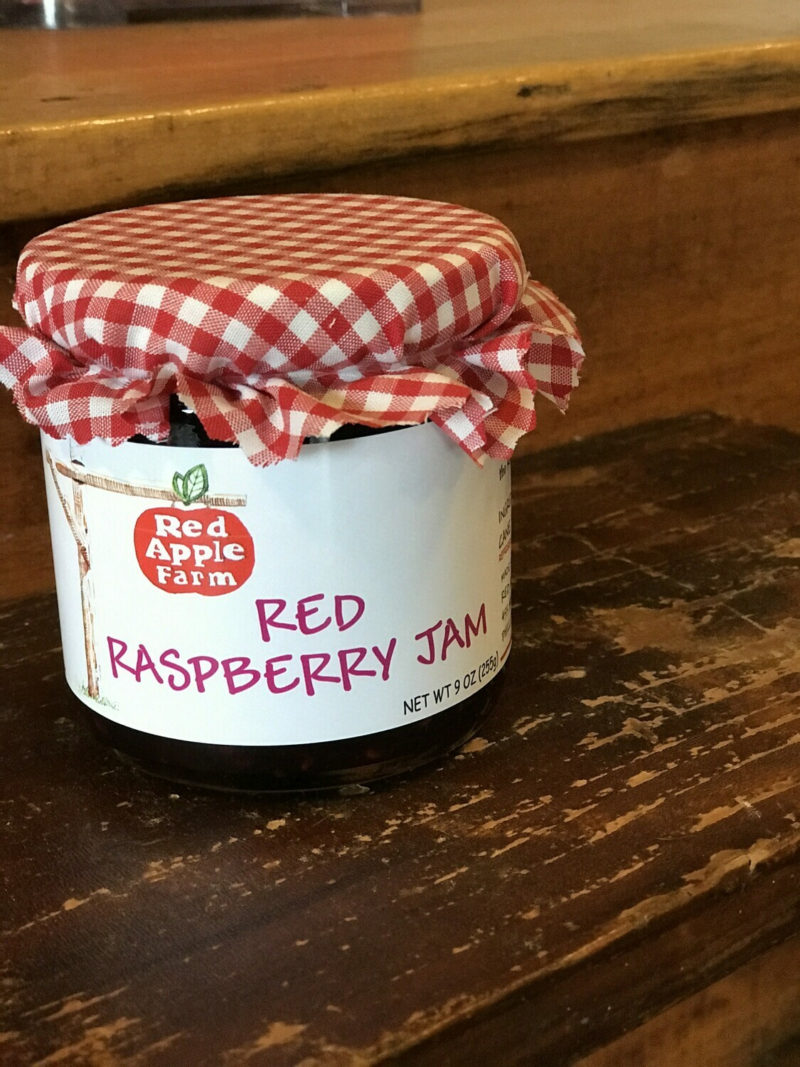Red Raspberry Jam 9oz