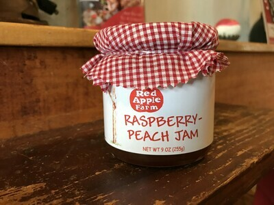 Raspberry Peach Jam 9oz