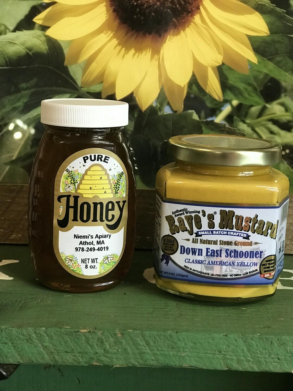 Honey Mustard Combo (8oz honey / Down East Mustard)