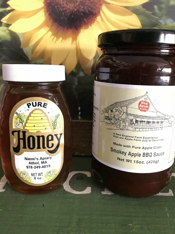 Honey BBQ Combo (8oz Honey / Smokey BBQ Sauce)