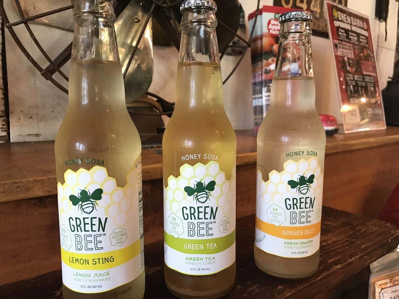 Green Bee Honey Soda - Lemon Sting