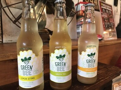 Green Bee Honey Soda - Lemon Sting
