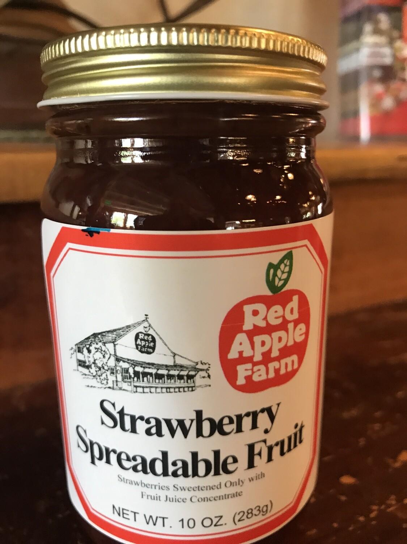 Strawberry Spreadable 10 oz