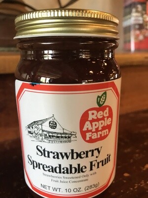 Strawberry Spreadable 10 oz