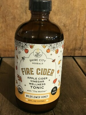Fire Cider Sweetened w/Honey 8oz