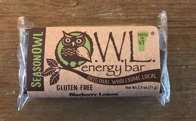 Blueberry Lemon OWL Bar