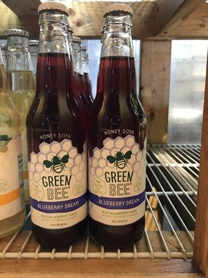 Green Bee Honey Soda - Blueberry Dream