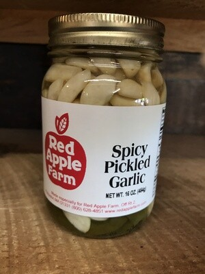 Spicy Pickled Garlic 16oz