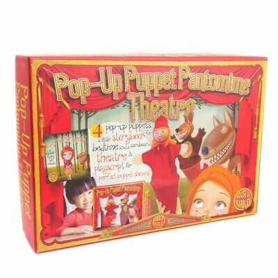 Pop-Up Puppet Pantomine Theatre