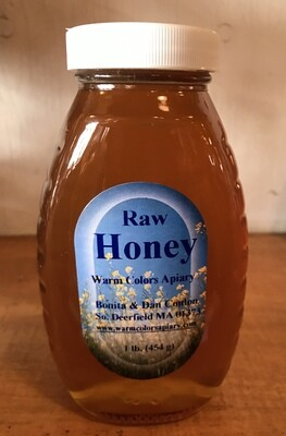 Raw Honey 1 lb (Warm Colors Apiary)