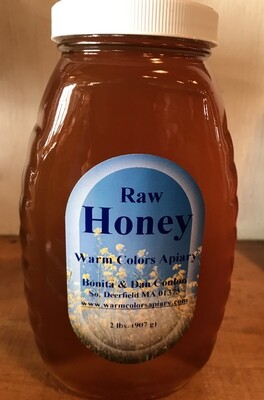 Raw Honey 2 lb (Warm Colors Apiary)