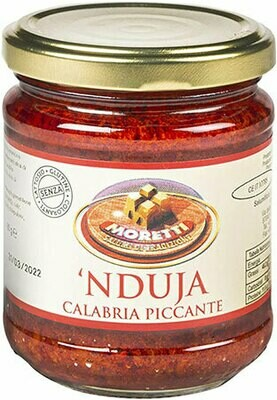 Spreadable Nduja glass 106g